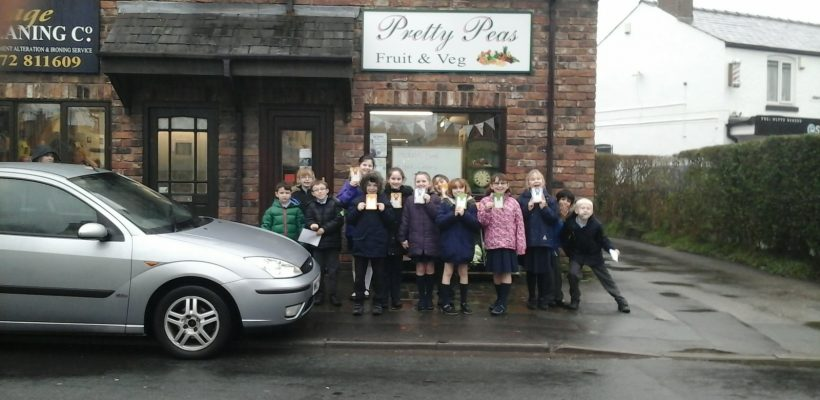 Year 4 visit Pretty Peas – January 2017