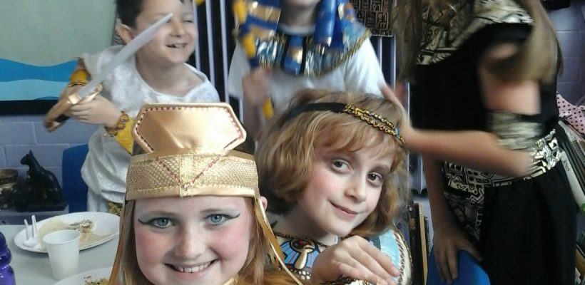 Egyptian day in Year 4 – 8th May 2017