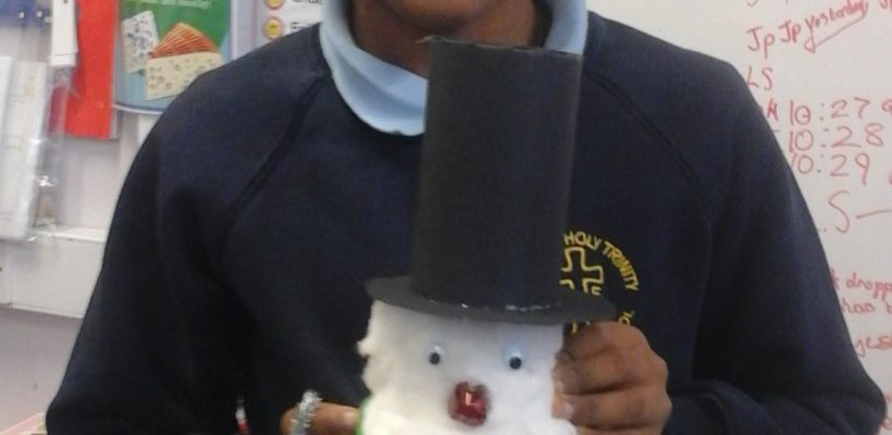 Year 4 Make their Christmas DT Ornaments – December 2017