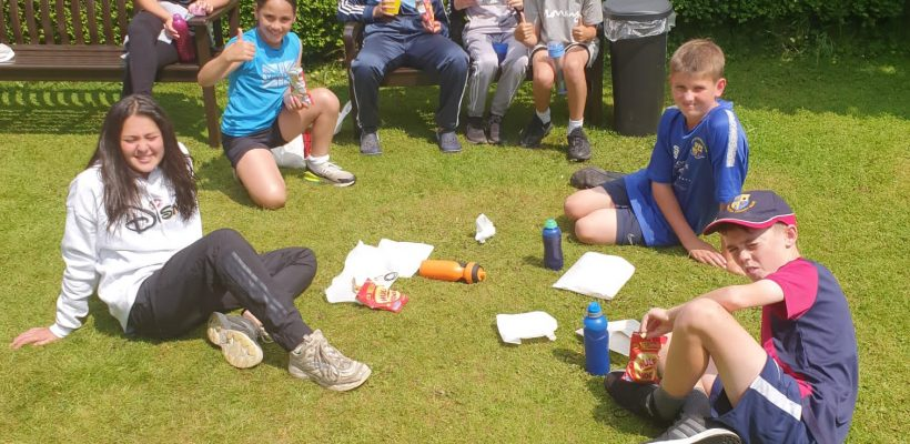Tuesday 13th July – Lunch Time at Min y Don!