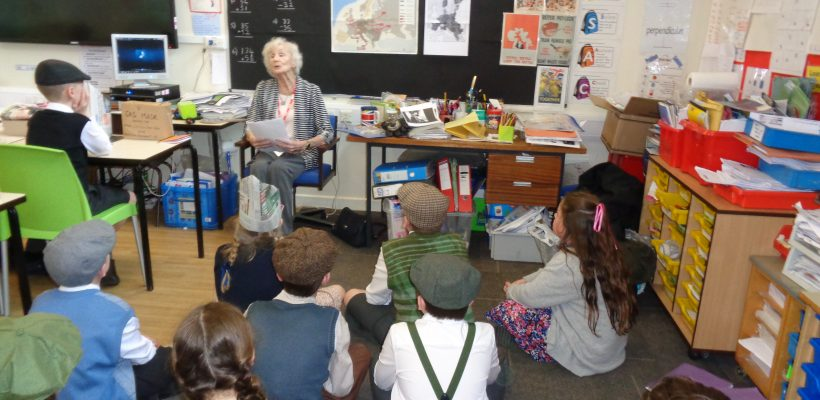 Year 6 go back to the 1940s – 17th April 2018