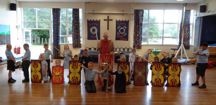 Year 3 enjoy their Roman Day – 28th June 2017