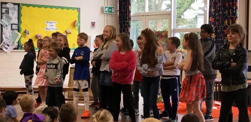 Year 4's Class Worship – April 2018
