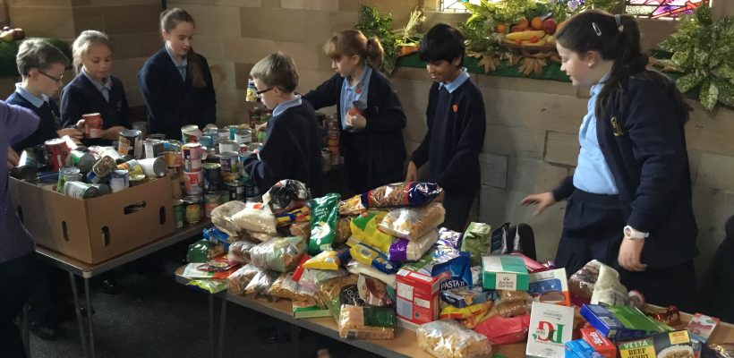 The Harvest Tidy Up – 16th October 2018