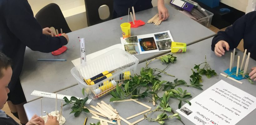Year 3 discuss Sukkot – 10th October 2018