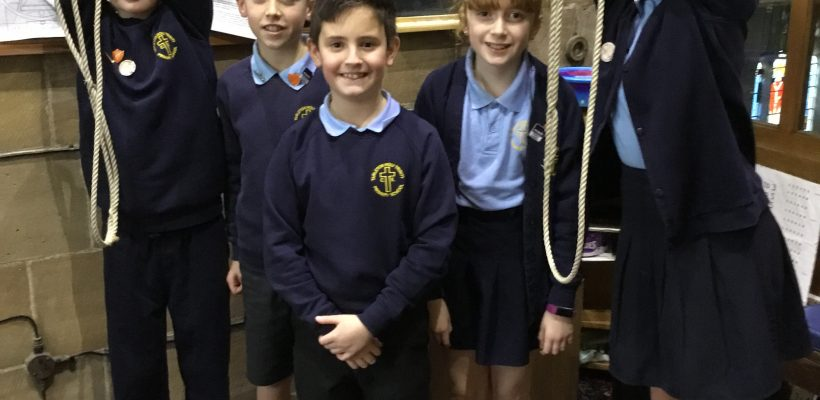 THT's School Bell Ringing Club – January 2019