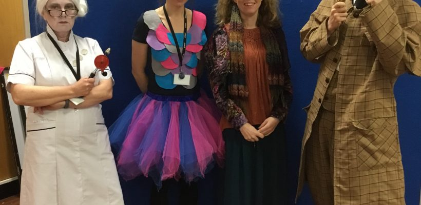 World Book Day – the Staff – 5th March 2019