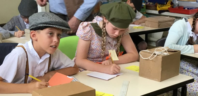 WWII Day for Year 6 at THT – July 2019