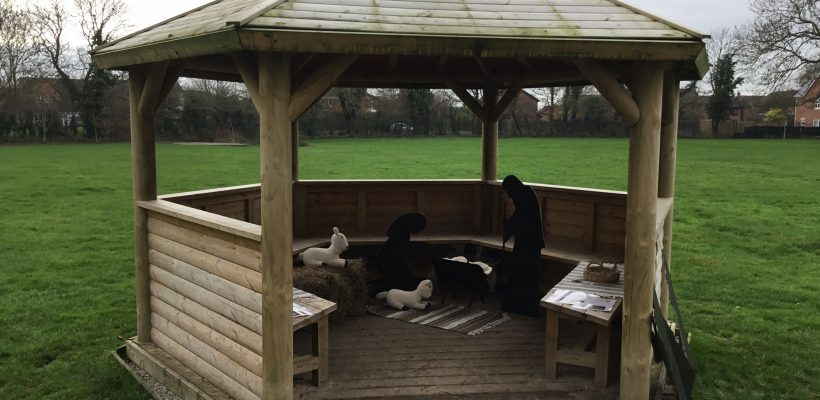 Pop Up Nativity Comes to THT – December 2018