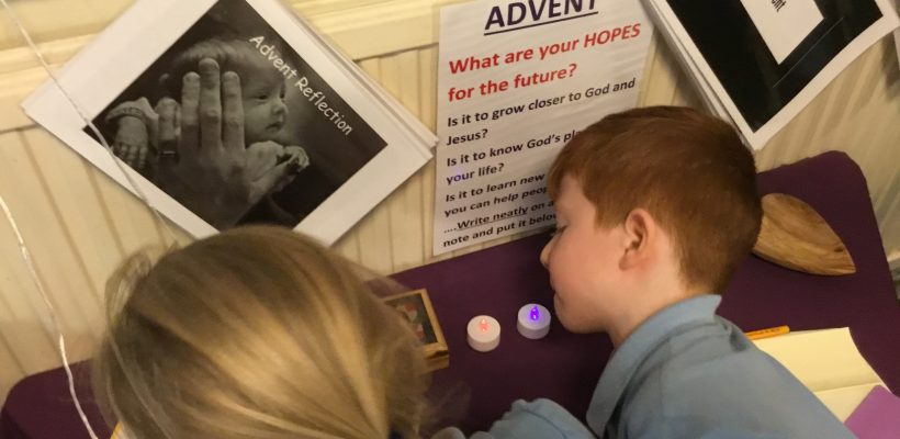 Advent Prayer Spaces – December 2018