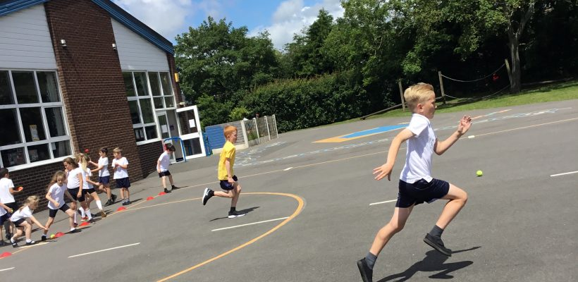 A PE Session with Year 3 – 20th June 2019
