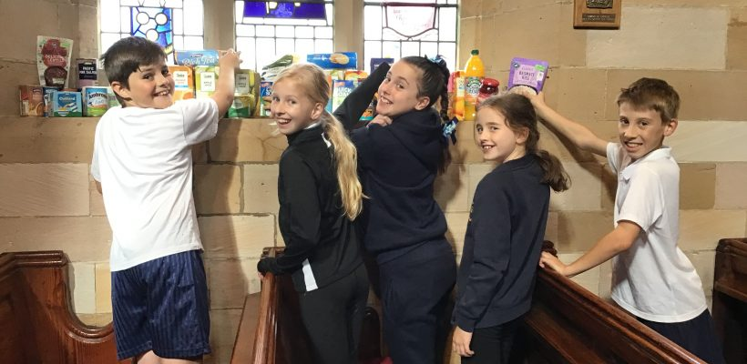 'Dressing the Church' with our Harvest Gifts – 8th October 2021