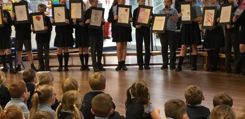 Year 6's Class Worship on Forgiveness – 8th March 2019