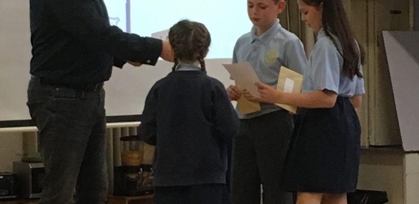 Our Performance Poetry Winners – 9th May 2019