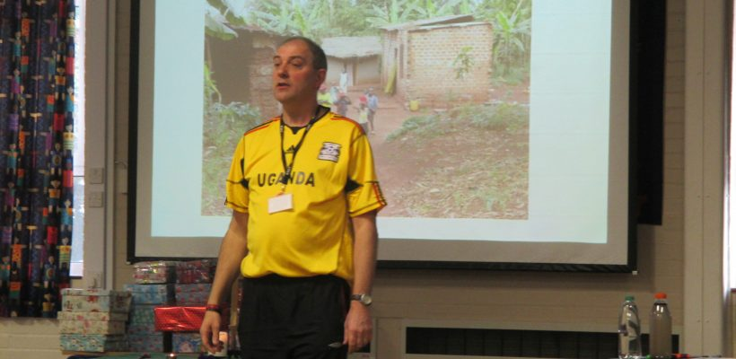 Mr Marshall tells us about Uganda- November 2016