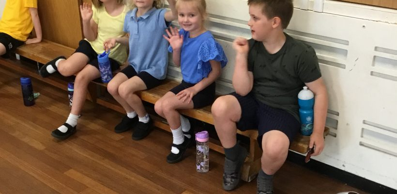 Year 1's Indoor Sports Day – 7th July 2021