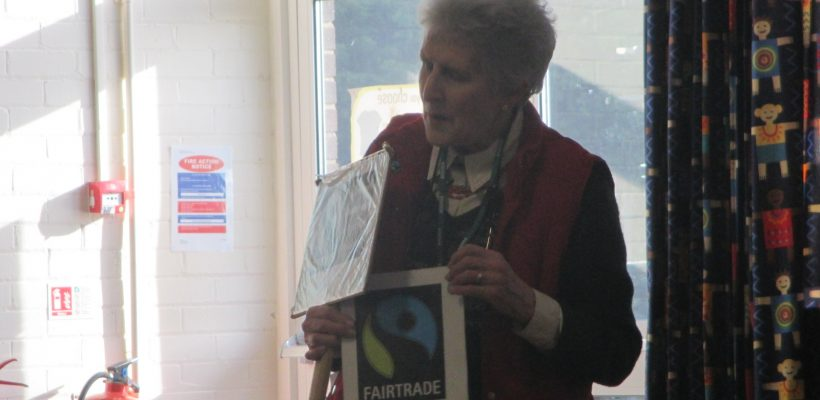 A Fairtrade Special Visitor – 7th March 2017