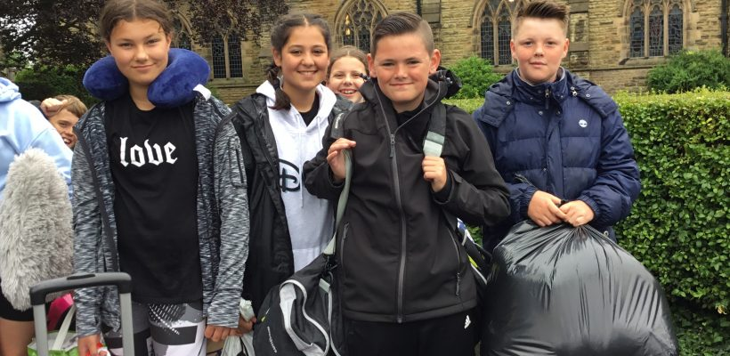 Year 6 set off to Min y Don – 12th July 2021