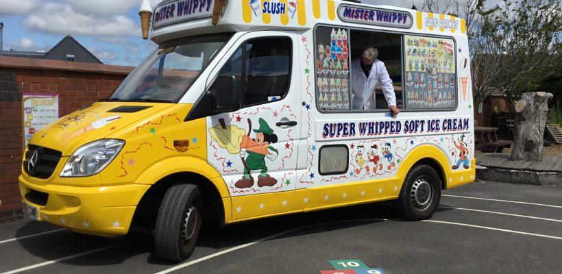 The Ice Cream Van Arrives – 14th July 2021