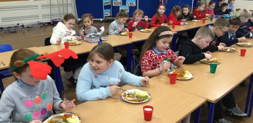 Year 4's Christmas Lunch – 9th December 2020