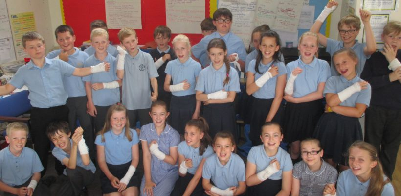 First Aid Training for Year 6 – 20th June 2017