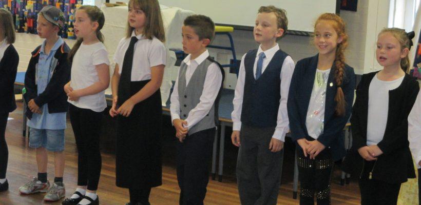 Year 3's Class Worship – 14th July 2017