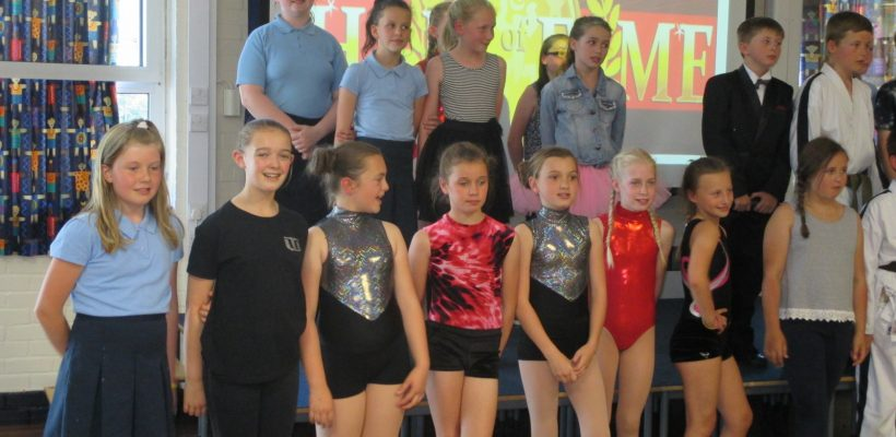The Year 6 Talent Show – 17th July 2017