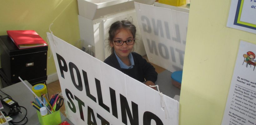 Year 3 vote for their School Councillors