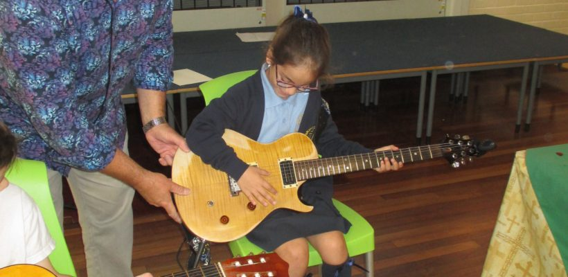 Mr Webster's Guitar Assembly – 19th September 2017