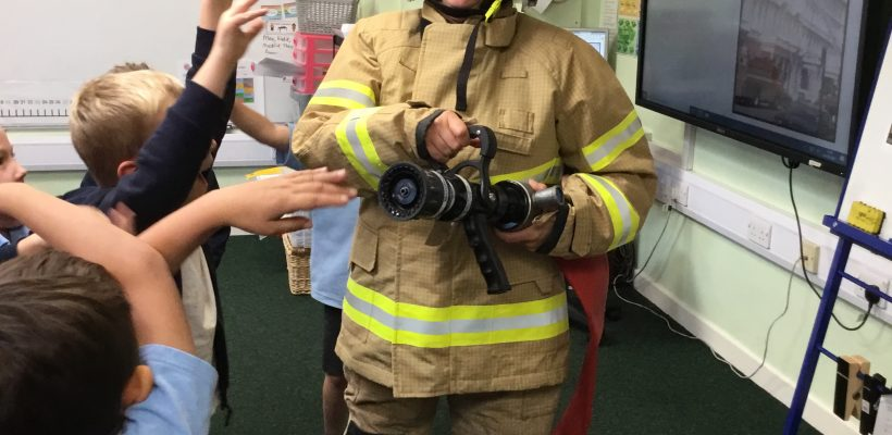 Year 2 have their Fire Safety Talk – 6th October 2021