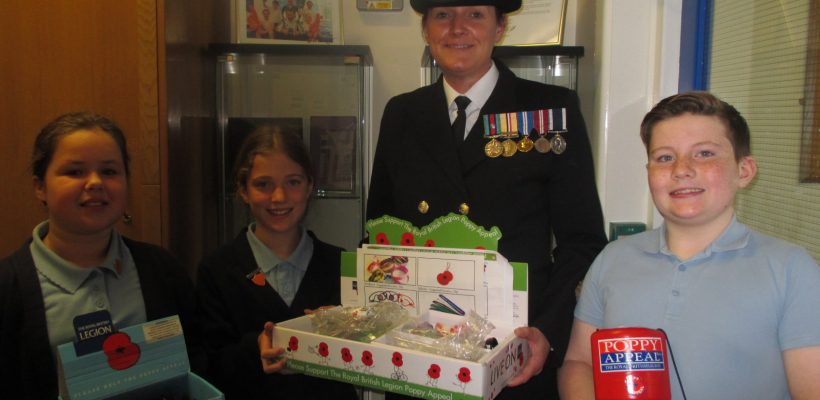Supporting the Poppy Appeal – November 2017