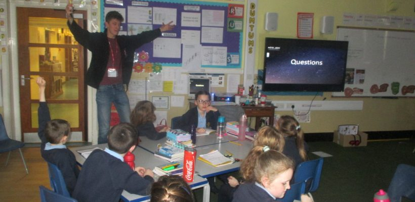 Daniel Marshall visits Year 5 – 22nd January 2018