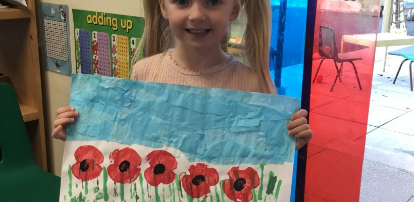Remembrance in our Reception Class – November 2020