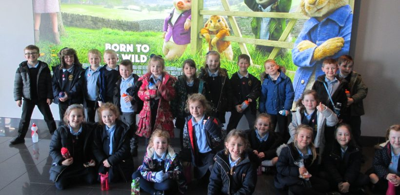 Year 1 watch the Peter Rabbit Film in Southport – 16th March 2018