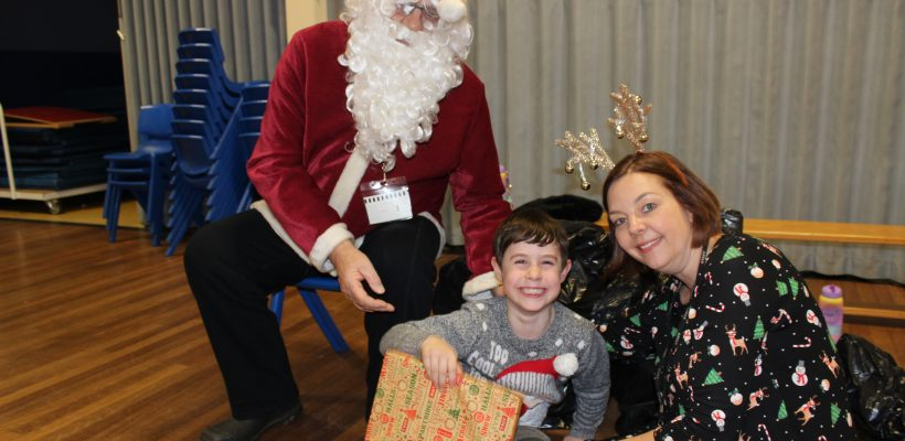 A special visitor at the Infant Party – 18th December 2018