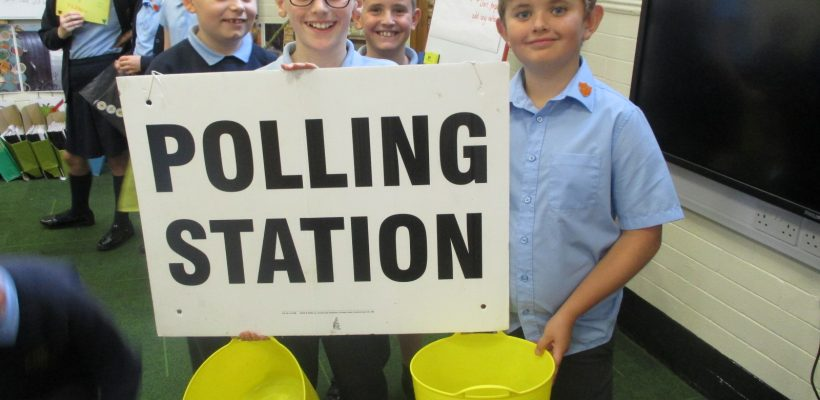 Year 6 Deliver their Team Captain Hustings Speeches – 11th October 2018