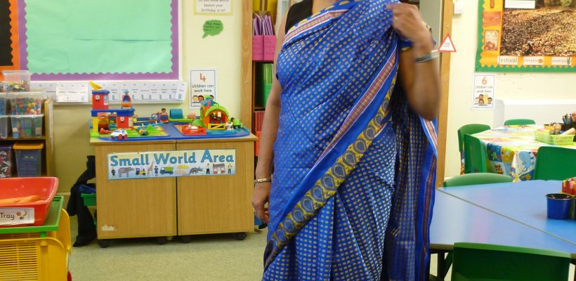 Mrs Feeney tells Year 1 about her Indian Heritage – October 2017