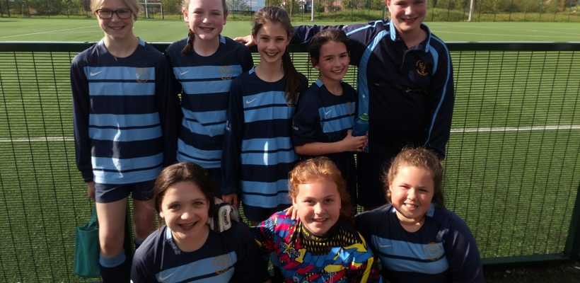 Our Girls Football Team – May 2018