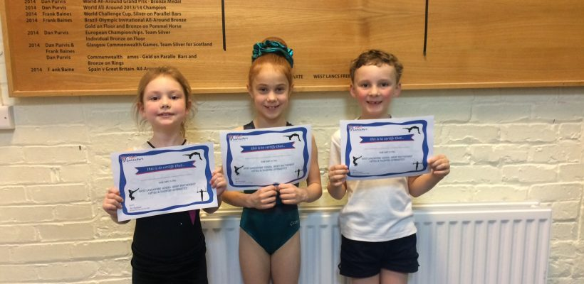 Our Gymnasts meet an Olympian – 16th March 2017