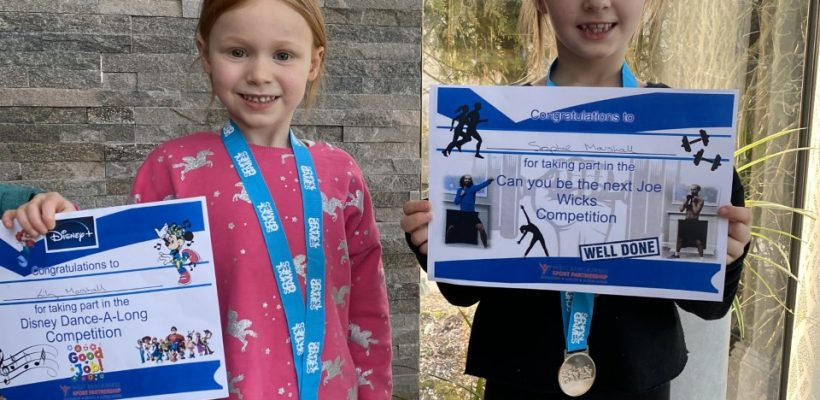The Marshall Sisters win Silver – 12th February 2021