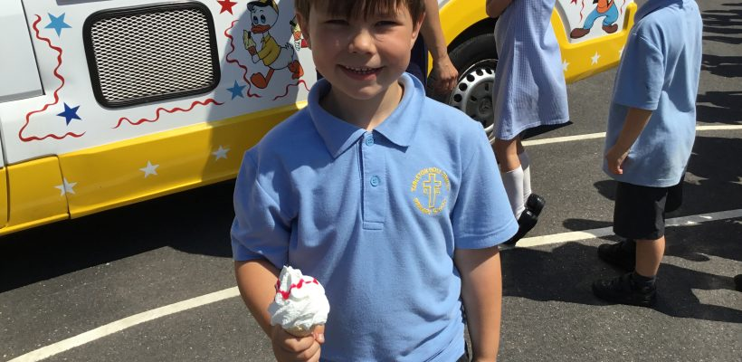 The Ice Cream Van visits THT – 16th July 2019