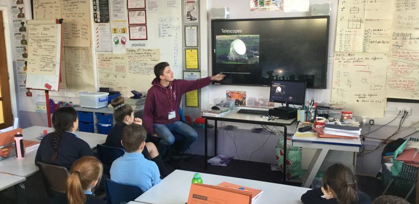 Y5 Astrophysicist visit