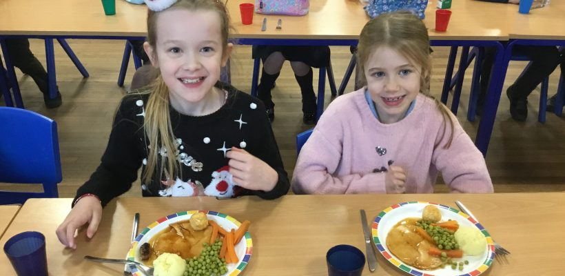 Year 3's Christmas Lunch – 9th December 2020