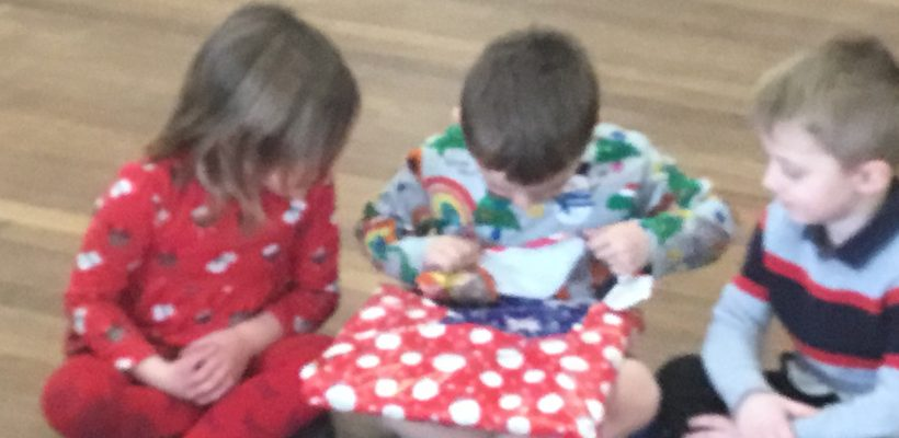 Our Reception Class Christmas Party – 14th December 2020